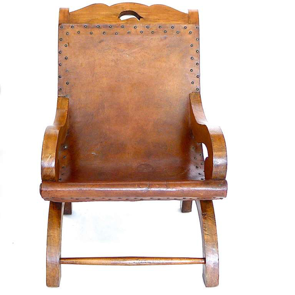 Signed Hand Made Butacque Arm Chair William Spratling