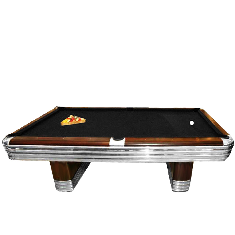 Art Deco Brunswick Centennial Tournament Pool Table TFTM Melrose - Brunswick centennial pool table