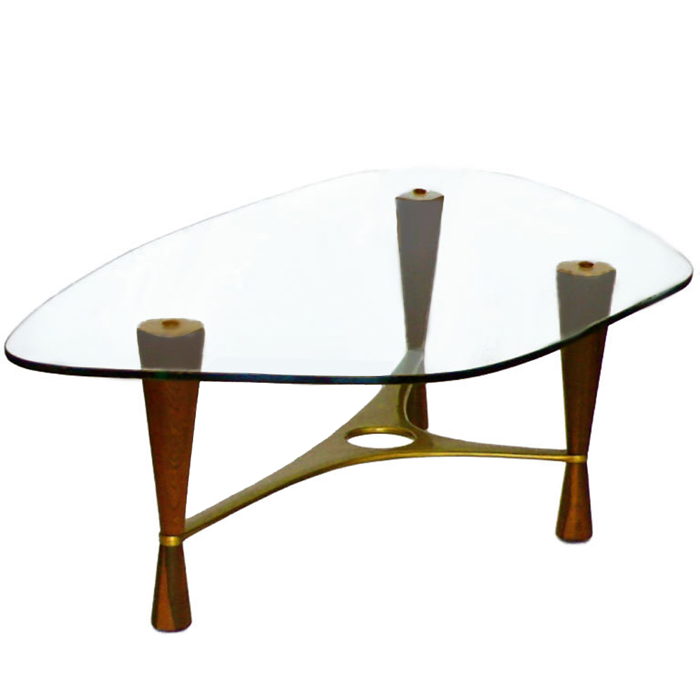 Coffee Table Model 5309 By Edward Wormley For Dunbar Tftm Melrose
